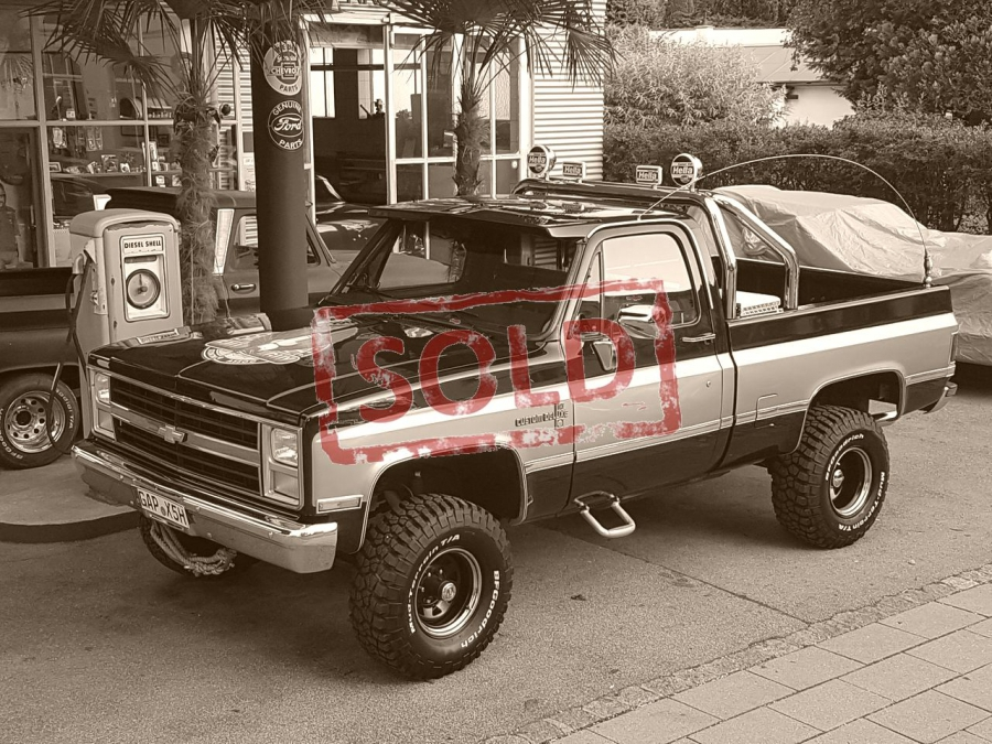 PROJEKT: Chevy K-10  Pick-Up 4x4