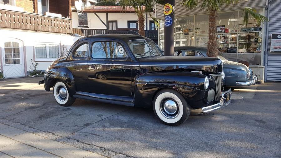 VERKAUF: Ford Super Deluxe von 1941