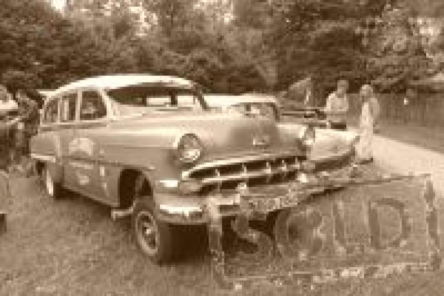 "Drag-Race BelAir 1954 ""Gasser"""